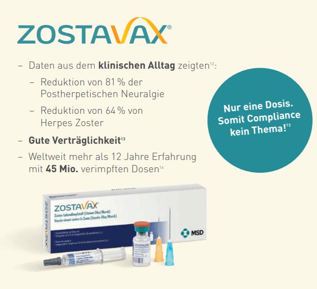 Zostavax_Daten aus dem klinischen Alltag