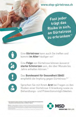 Poster Gürtelrose (A3)